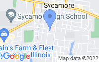 Map of Sycamore IL