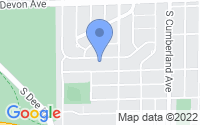 Map of Park Ridge IL