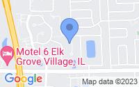 Map of Elk Grove Village IL