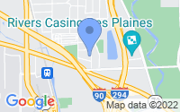 Map of Des Plaines IL