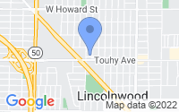 Map of Lincolnwood IL