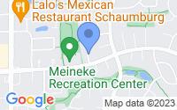 Map of Schaumburg IL