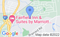 Map of Enfield CT