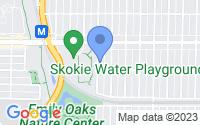 Map of Skokie IL