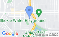 Map of Skokie IL