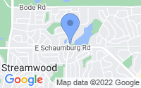 Map of Streamwood IL