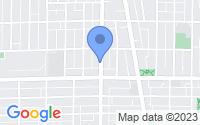 Map of Evanston IL