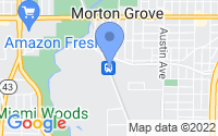 Map of Morton Grove IL