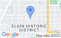 Map of Elgin IL