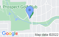 Map of Mount Prospect IL