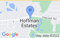 Map of Hoffman Estates IL