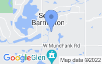 Map of South Barrington IL