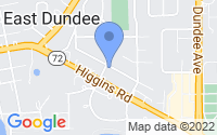 Map of East Dundee IL