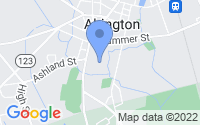 Map of Abington MA