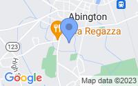 Map of Abington MA