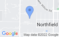 Map of Northfield IL