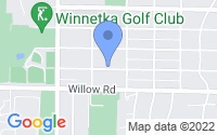 Map of Winnetka IL
