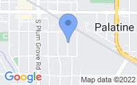 Map of Palatine IL