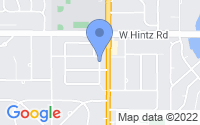 Map of Prospect Heights IL