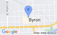 Map of Byron IL