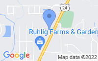 Map of Brownstown Charter Township MI