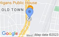 Map of Trenton MI