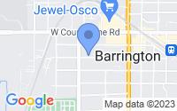 Map of Barrington IL