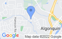 Map of Algonquin IL