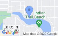 Map of Lake in the Hills IL