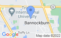 Map of Bannockburn IL
