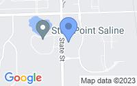 Map of Saline MI