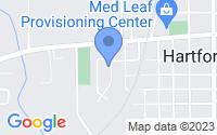 Map of Hartford MI