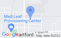 Map of Hartford MI