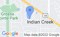 Map of Indian Creek IL