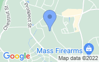 Map of Ashland MA
