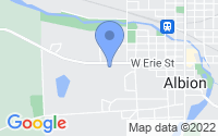 Map of Albion MI