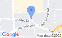 Map of Cherry Valley IL