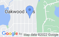 Map of Oakwood Hills IL