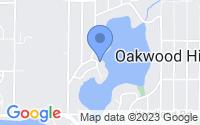 Map of Oakwood Hills IL