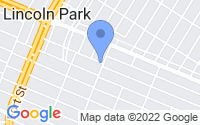 Map of Lincoln Park MI