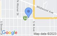 Map of Jackson MI