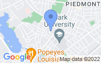 Map of Worcester MA