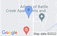 Map of Battle Creek MI
