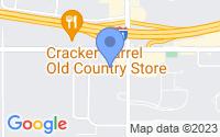 Map of Battle Creek MI