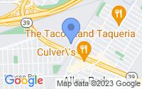 Map of Allen Park MI