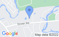 Map of Dover MA