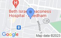 Map of Needham MA