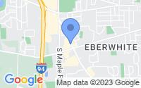 Map of Ann Arbor MI