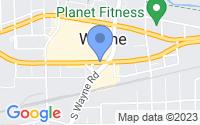 Map of Wayne MI