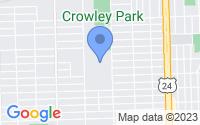 Map of Dearborn MI